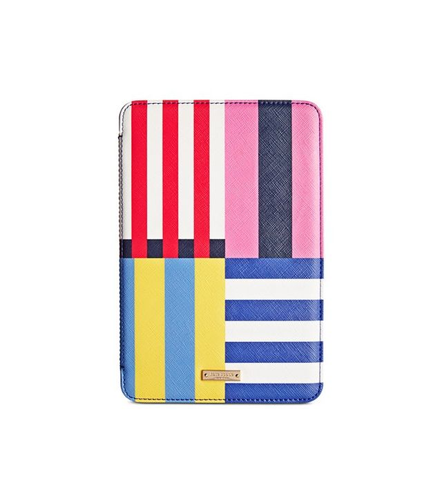 Kate Spade New York Flag Stripe Mini Folio Hardcase