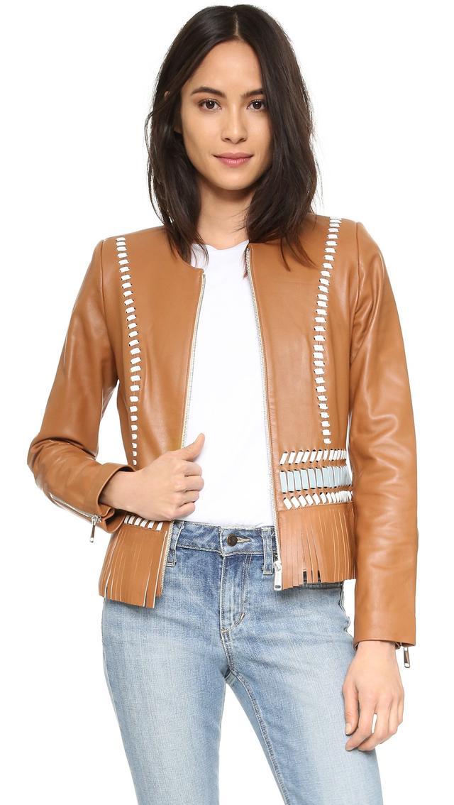 Nour Hammour Lifetime Leather Jacket