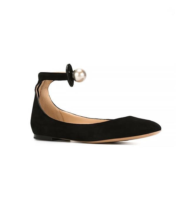 Chloé Ankle Strap Ballerinas
