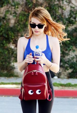 Every Girl in L.A. Will Want Emma Roberts's Backpack