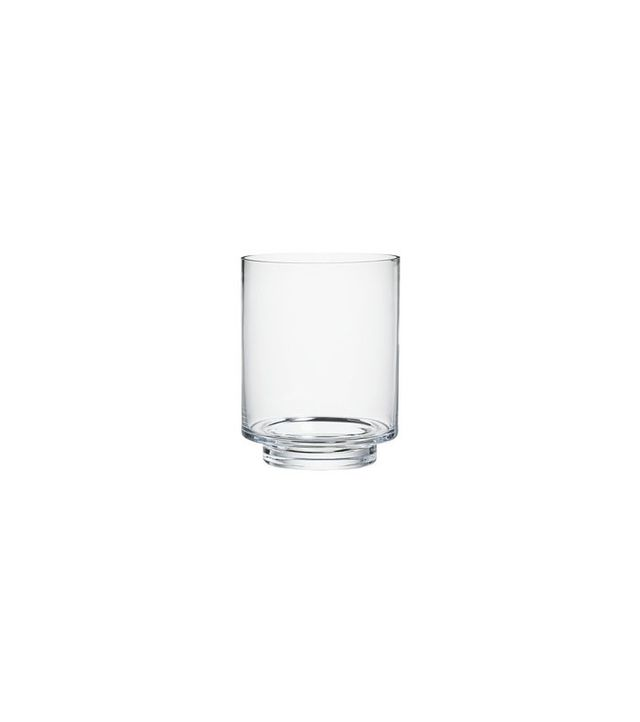 Crate and Barrel Taylor Large Glass Vase