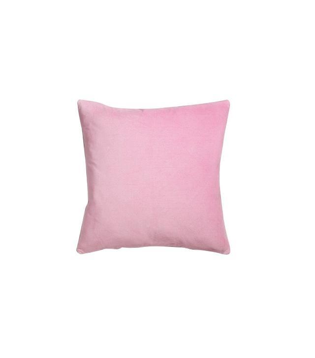 World Market Lilac Mist Velvet Throw Pillow