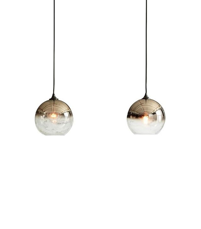 West Elm Ombre Mirrored Pendant