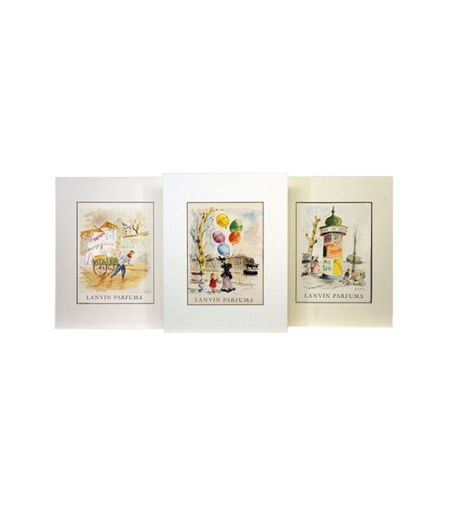 Set of 3 Lanvin Parfums Prints