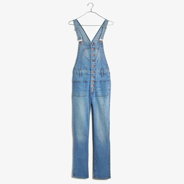 Madewell Bayfront Crop Overalls