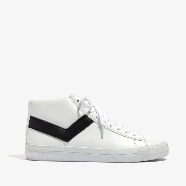 Madewell Pony Topstar Hi High-Top Sneakers