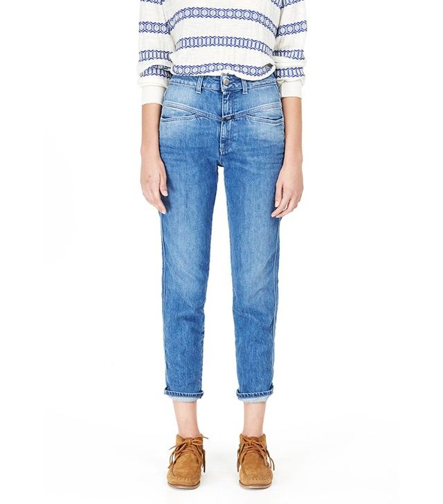 Closed Pedal Pusher Blue Denim Jeans