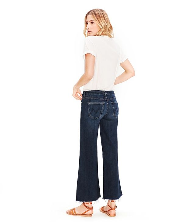 Mother Roller Ankle Fray Jeans