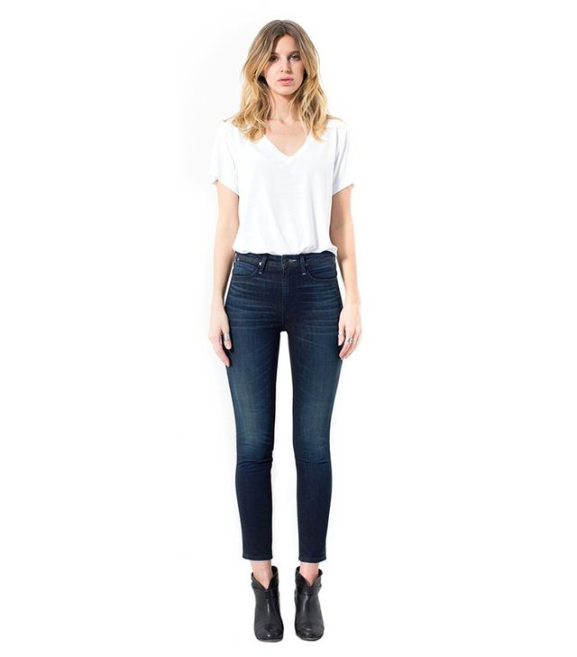 Talley High-Rise Ankle Skinny Jeans