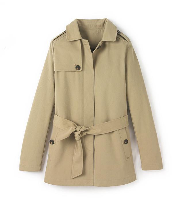 La Redoute Short Trench Coat