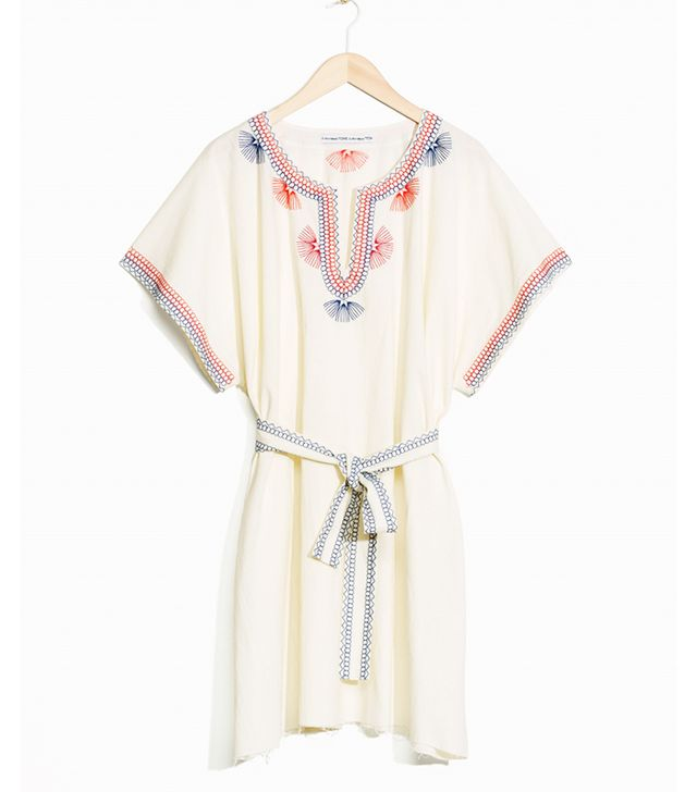 Toms x & Other Stories Embroidered Dress