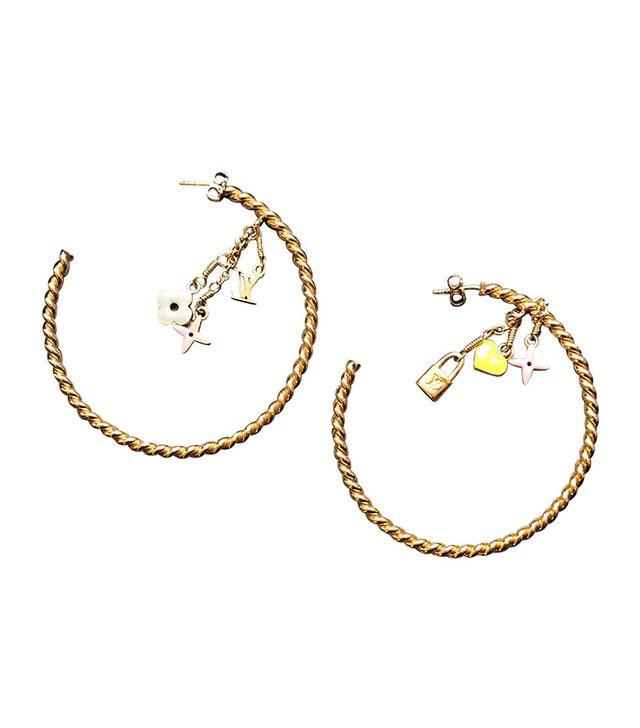 Louis Vuitton Vintage Earrings