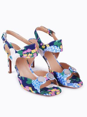 Love, Want, Need: Carven's Spring Floral Sandals