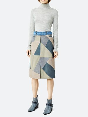Love, Want, Need: AllSaints' Amazing Patchwork Skirt