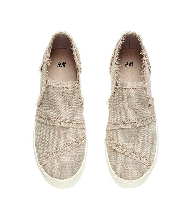 H&M Trainers With Frayed Edges