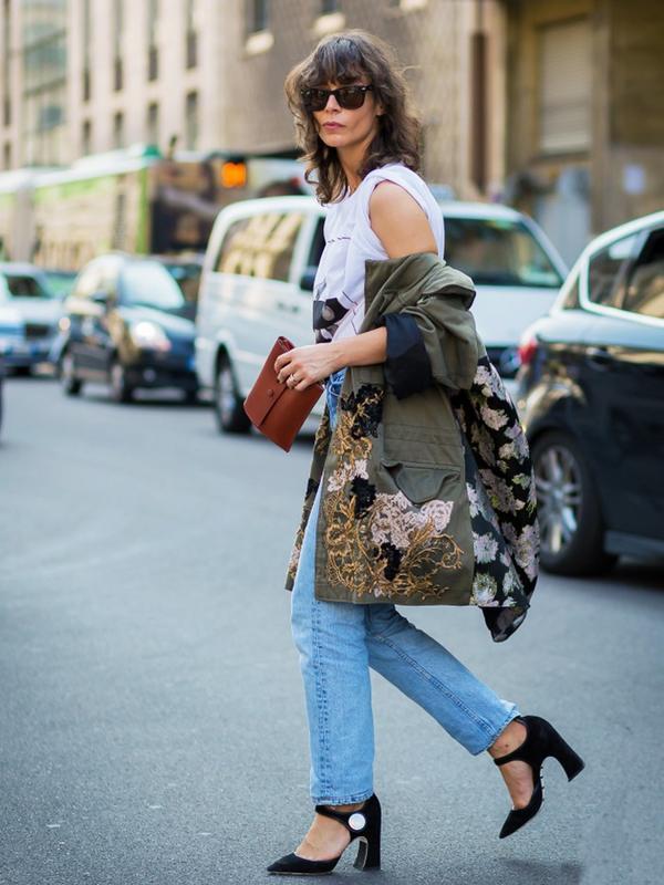 Boyfriend Jeans + Easy Heels