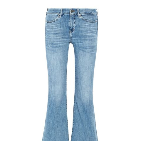 Lou Cropped High-Rise Flares