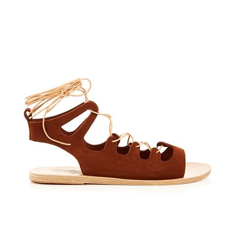 Antigone Suede Sandals