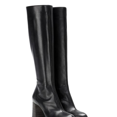 Harper Leather Knee Boots