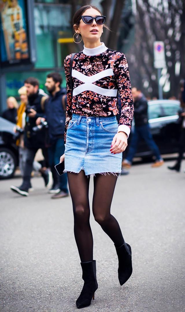 4. Avoid knee-length pieces.