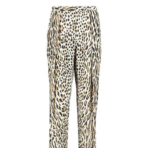Fiianca Leopard Print Trousers