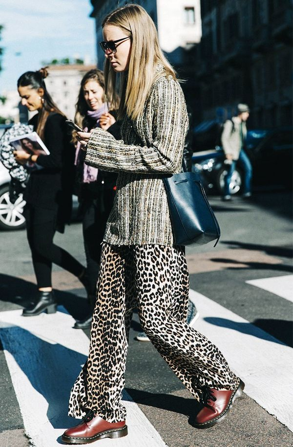 Leopard and Textured Stripes