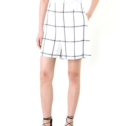 Windowpane Shorts