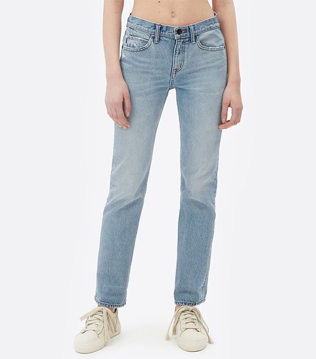 Helmut Lang Light Worn Boyfriend Jeans