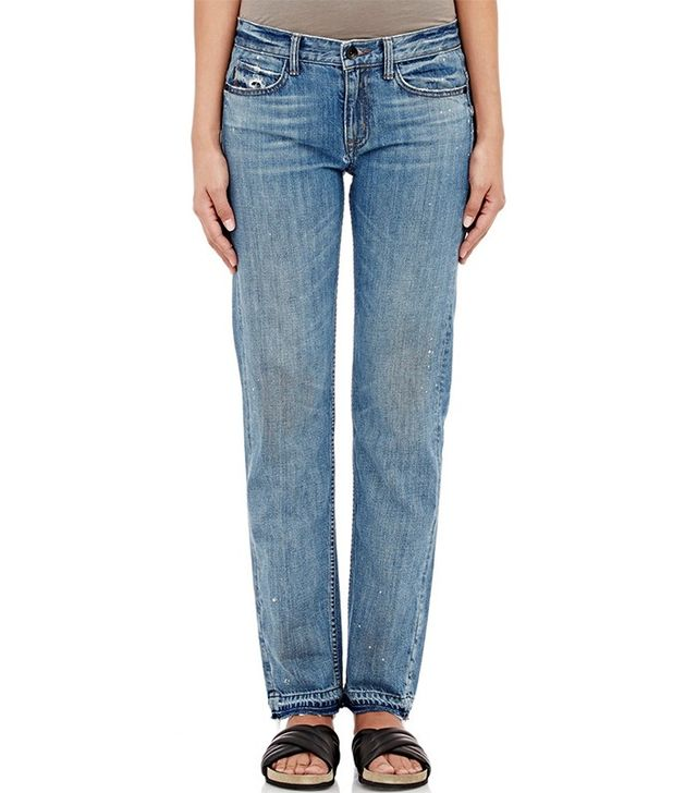Helmut Lang Paint-Splattered Jeans