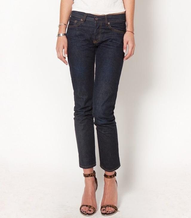 Imogene + Willie James Rigid Low Rise Straight Jeans