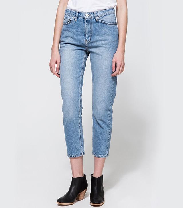 Wood Wood Eva Classic Blue Vintage Jeans