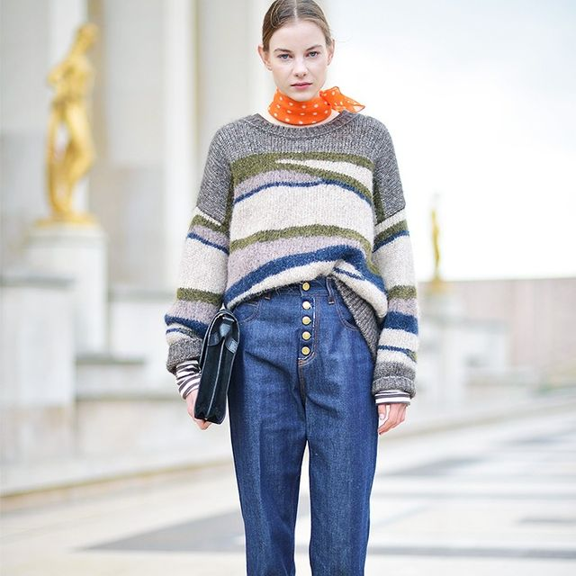 These Street Style Looks Prove You Can Wear Denim to Work