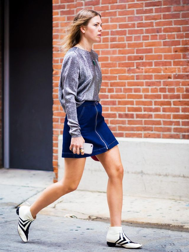 These Street Style Looks Prove You Can Wear Denim to Work ...