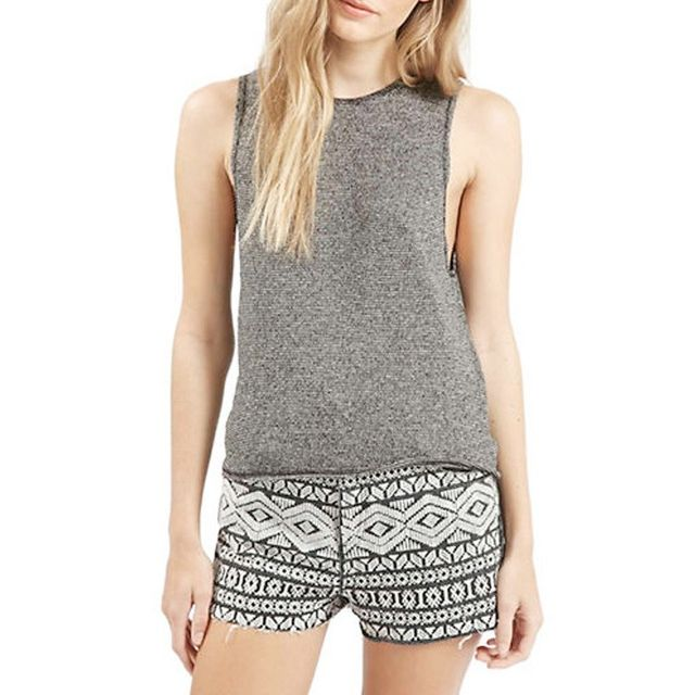 Topshop Knitted Tank Top