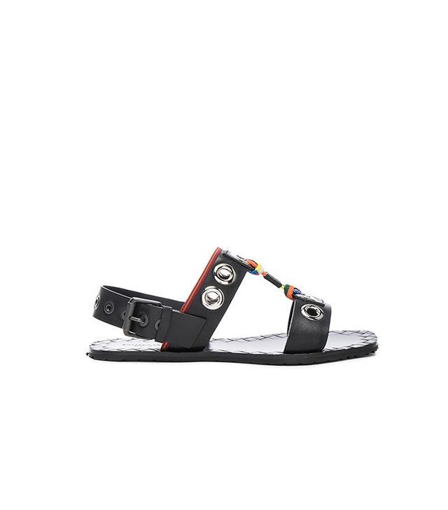 Botegga Veneta Grommet Sandals
