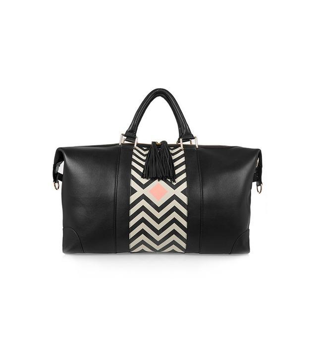 Eddie Harrop The Voyager Textured-Leather Weekend Bag
