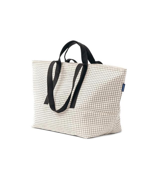 Baggu Natural Grid Weekend Bag