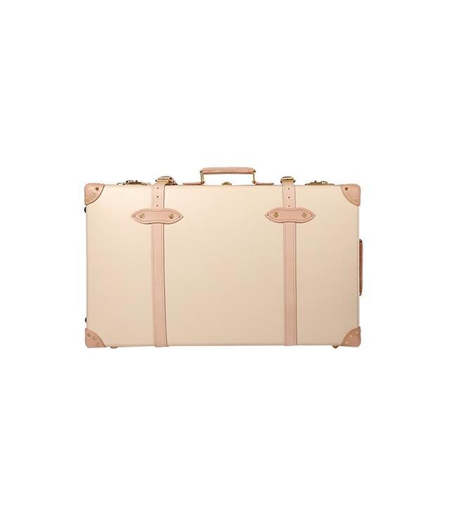 "Globe-Trotter Safari 30"" Leather-Trimmed Fiberboard Suitcase"