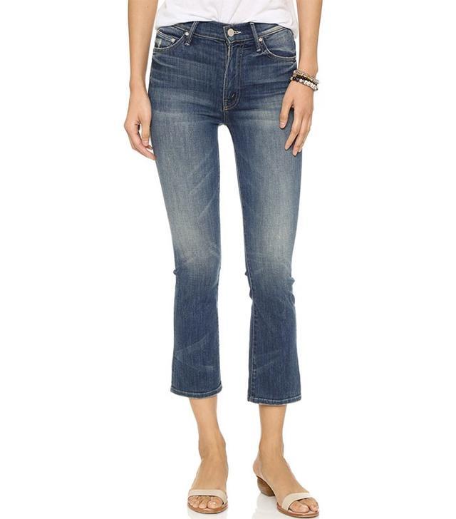Mother Denim The Insider Crop Jeans