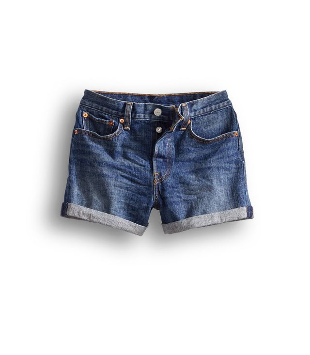 Levi's Wedgie Fit Shorts in Classic Tint