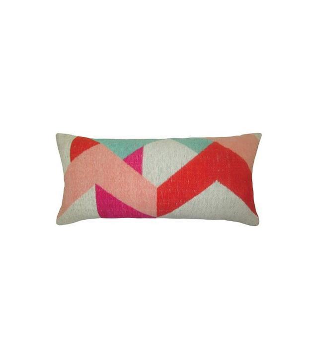 Threshold Yarn Dyed Lumbar Pillow