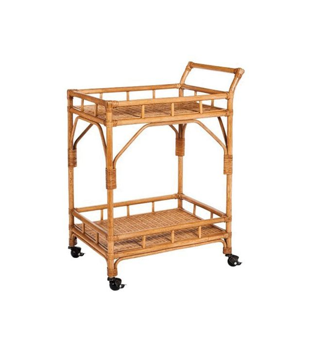 Threshold Rattan Bar Cart