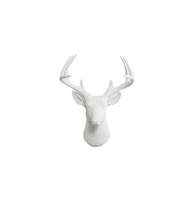 Wall Charmers Ceramic Deer Head