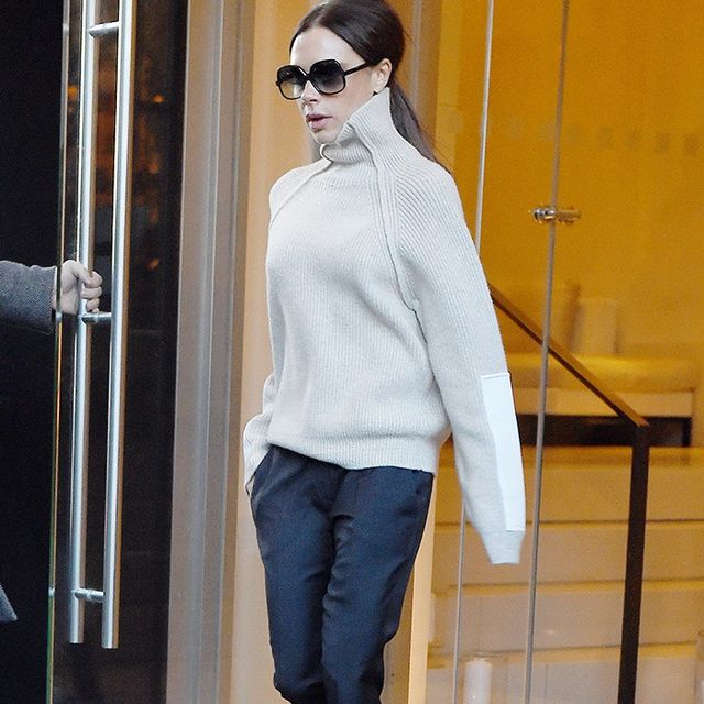 Victoria Beckham Wore the Sneakers Everyone Wants Right Now