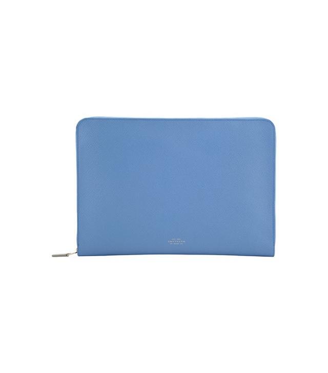 """Smythson Panama 13"""" Laptop Case"""