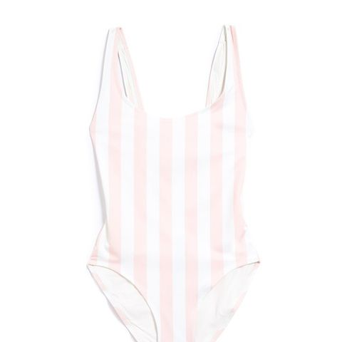 The Anne Marie in Pink Stripe