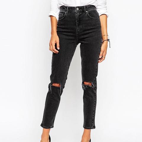 Farleigh High Waist Slim Mom Jeans
