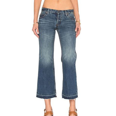 Chelsea Crop Kick Flare Jeans