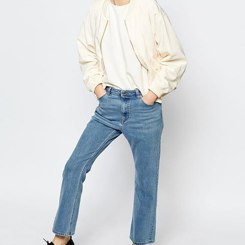 Monki Cropped Denim Jeans