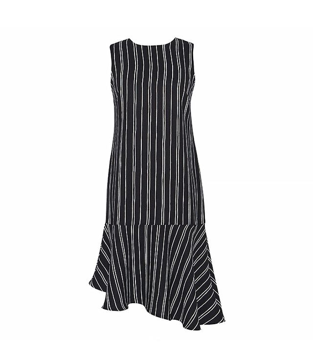 Who What Wear Sleeveless Fluted Shift